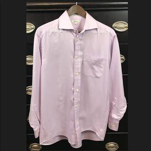 🎃Faconnable Mens Button Down Casual/Dress Shirt